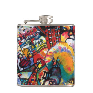 Wassily Kandinsky - arte abstracto del paisaje Petaca