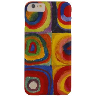 Wassily Kandinsky-Farbstudie Quadrate Funda Barely There iPhone 6 Plus