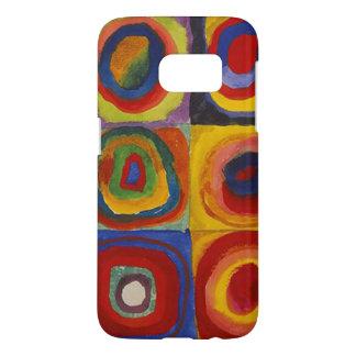 Wassily Kandinsky-Farbstudie Quadrate Funda Samsung Galaxy S7
