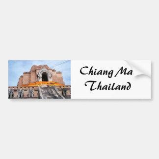 Wat Chedi Luang Pegatina Para Coche