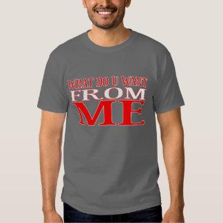 WAT hacen U QUIEREN Camiseta