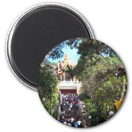 Wat Phrathat Doi Suthep Imán Para Frigorifico