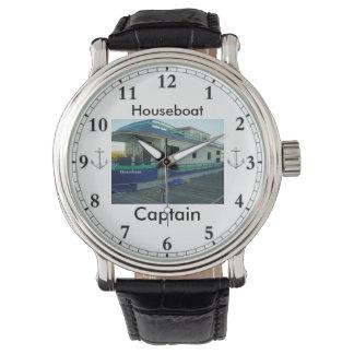 Watch de la casa flotante de capitán reloj