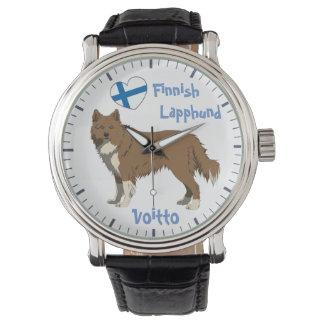 Watch finlandés Lapphund Lapinkoira irlandesa Reloj