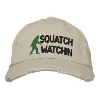 Watchin de Squatch Gorros Bordados