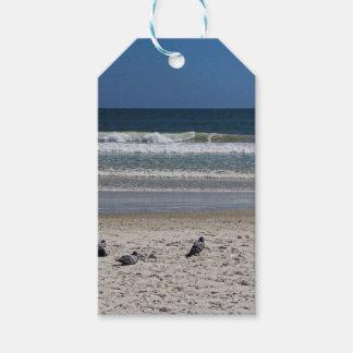 Watchin el rollo de la marea lejos etiquetas para regalos