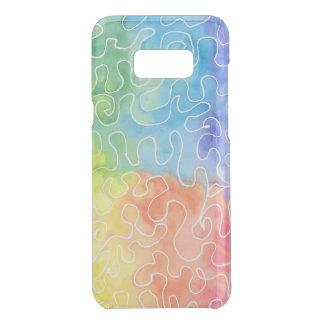 Watercolour del Squiggle del arco iris
