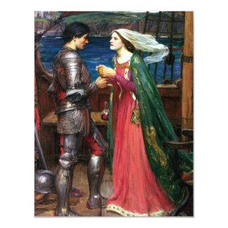 Waterhouse Tristan e invitaciones de Isolda Invitación 10,8 X 13,9 Cm