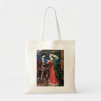 Waterhouse Tristan y la bolsa de asas de Isolda