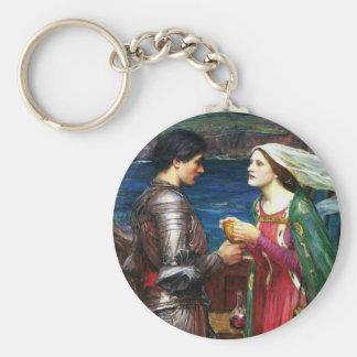 Waterhouse Tristan y llavero de Isolda