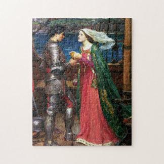 Waterhouse Tristan y rompecabezas de Isolda