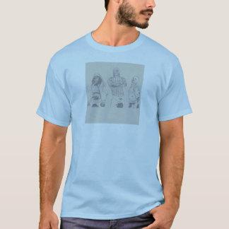 Watermain, carámbano, bola de fuego camiseta
