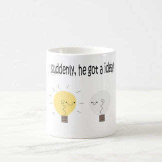 Wats la idea grande taza básica blanca