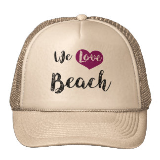 """We love Beach"" Gorra"