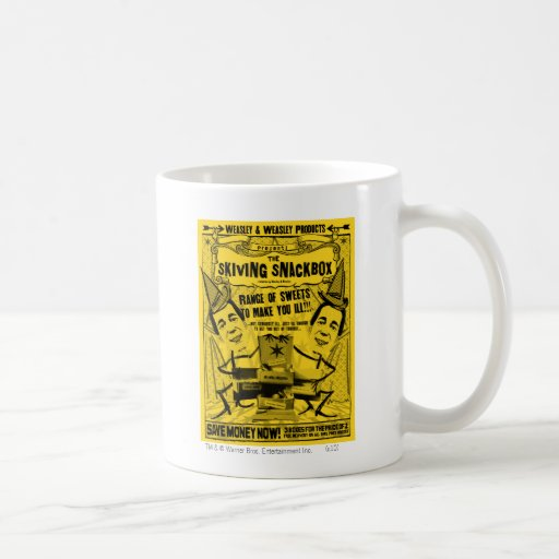 Weasley y productos del weasley taza de café