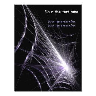 Web de araña folleto 21,6 x 28 cm