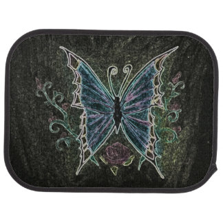 Web de la mariposa alfombrilla de coche