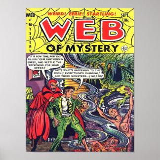 WEB del arte fresco de la cubierta de cómic del vi Posters
