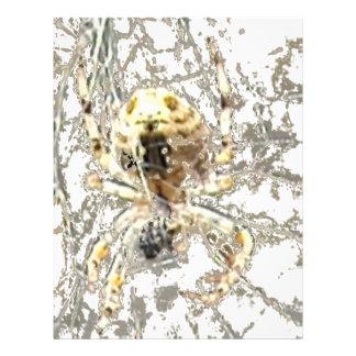 Web del místico del primer de la araña tarjetones