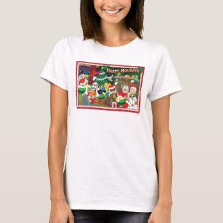 ¡Webkinz buenas fiestas! Camiseta