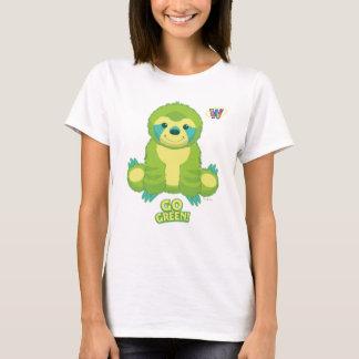 Webkinz va modelo verde camiseta