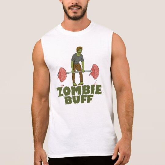 Weightlifter divertido de la piel de ante del camiseta sin mangas