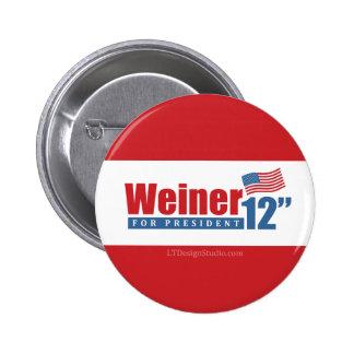 Weiner 2012 pulgadas - botón pin