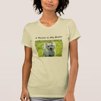 Westie es mi Bestie Camiseta