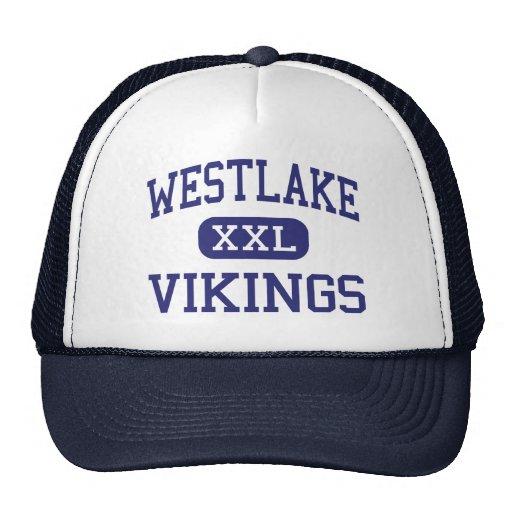 Westlake Vikingos Erie media Pennsylvania Gorros Bordados