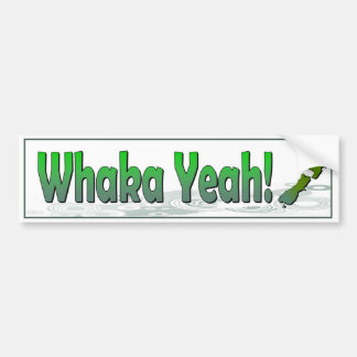 Whaka sí. el decir divertido del kiwi (Nueva Pegatina Para Coche
