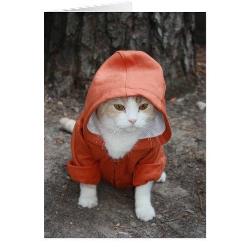 Whazup en gato de la capilla de DA ' Tarjetón