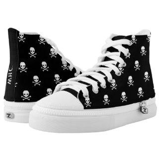 WHC - zapatos del cráneo del Hola-top