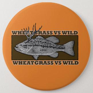 Wheatgrass CONTRA el botón salvaje