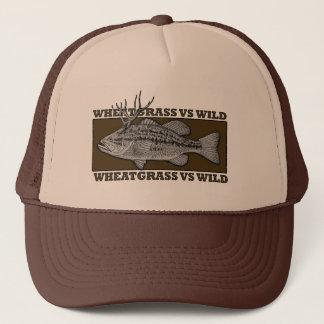 Wheatgrass CONTRA el gorra salvaje del camionero