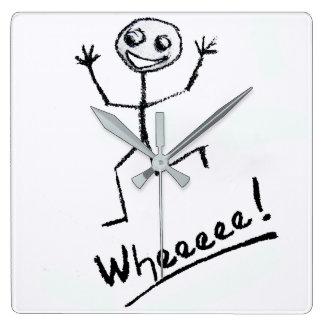 ¡Wheeeee! Reloj