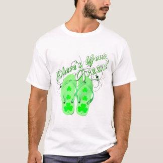 wheres su verde camiseta