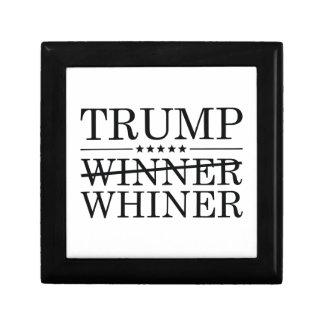 Whiner del ganador del triunfo caja de regalo