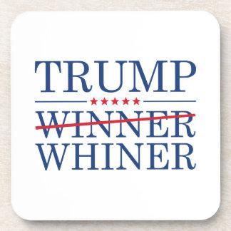 Whiner del ganador del triunfo posavasos