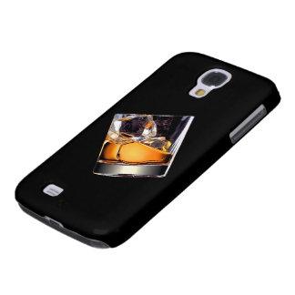 Whisky en la caja de la galaxia S4 de Samsung de Samsung Galaxy S4 Cover