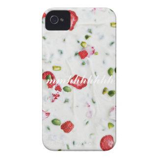 white chocolate cute iPhone 4 Case-Mate carcasas