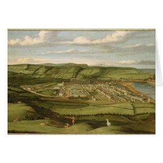 Whitehaven, Cumbria, mostrando a Flatt Pasillo, c. Tarjeta De Felicitación