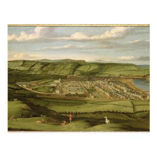 Whitehaven, Cumbria, mostrando a Flatt Pasillo, Postal