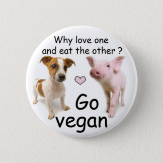 ¿Why love one and eat the other? Chapa Redonda De 5 Cm