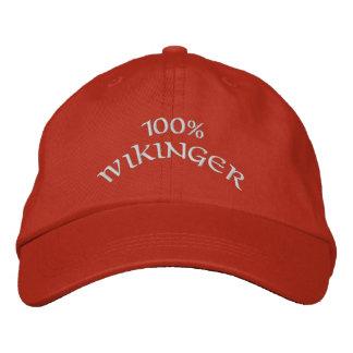Wikinger 100% gorro bordado