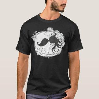"""""""Wild moustaches"""" Camiseta"""