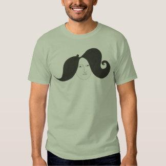 """""""Wild moustaches/ Lisa"""" Camisetas"""