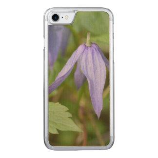 Wildflower púrpura funda para iPhone 8/7 de carved