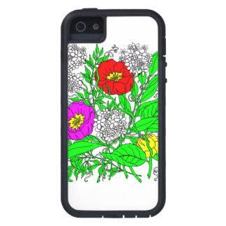 Wildflowers 2 funda para iPhone SE/5/5s