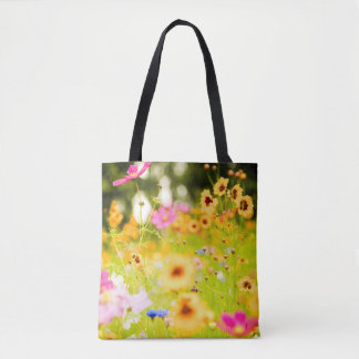 Wildflowers Bolso De Tela