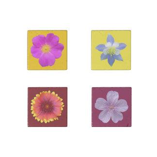 Wildflowers de Colorado Imán De Piedra